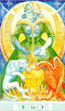 soul retreival art Thoth Tarot tara greene