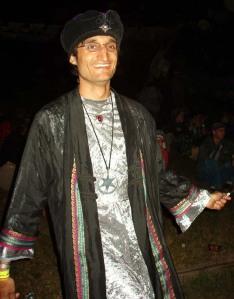 Tarot Reader, Astrologer, Musician Michael at Royal Ontario Museum Event