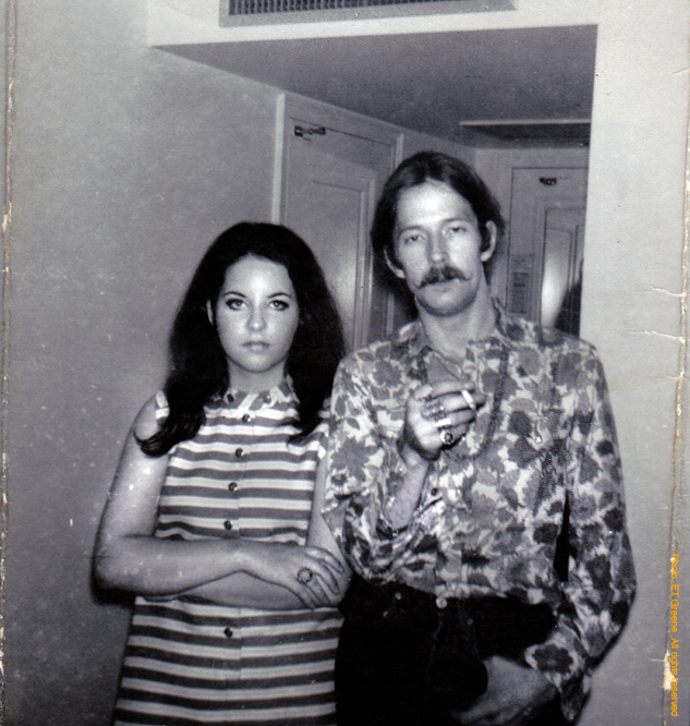Eric Clapton and Tara Greene June 8, 1968