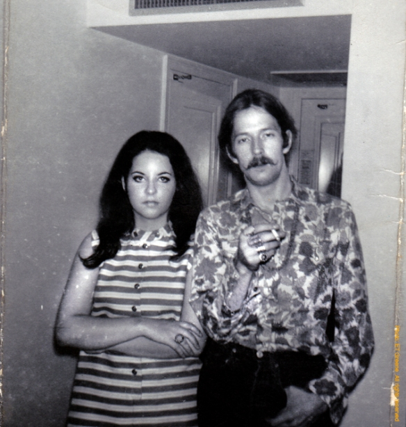 Eric Clapton, Tara Greene June 8 1968
