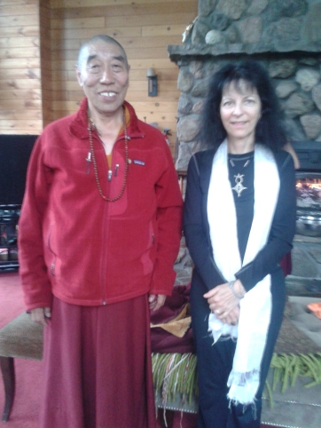 Tibetan Buddhist Lama Tara Greene Grail SPrings Spa