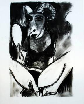 Capricorn fine art Napoleon Brousseau Tara Greene