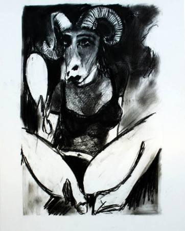 Capricorn fine art Napoleon Brousseau