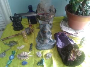 Love magic alter Tara Greene astrology spirituality