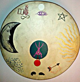 Shaman's drum Tara Greene spiritual retreats