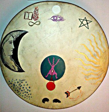 Shaman's drum Tara Greene spiritual retreats