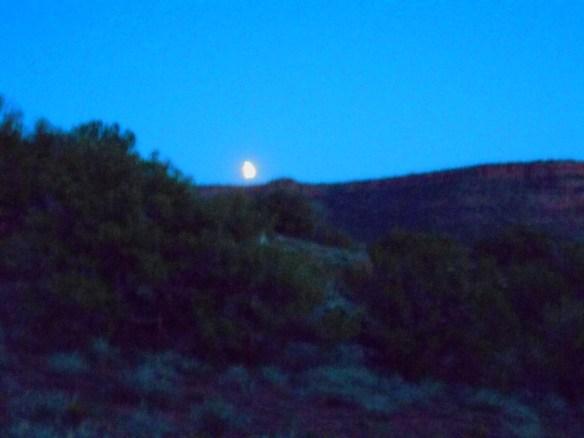 blood moon rising sedona Tara Greene