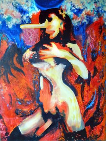 Transgenfer Caitlyn Jenner Napoleon Brousseau art