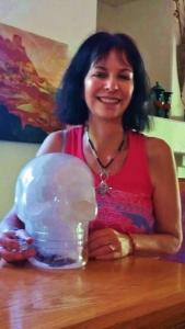 Crystal Skull Einstein Tara Greene Sedona