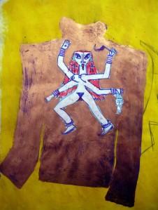 Kali, art, Napoleon Brousseau