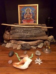 Venus Altar, Witch, MAgic, Tara Greene