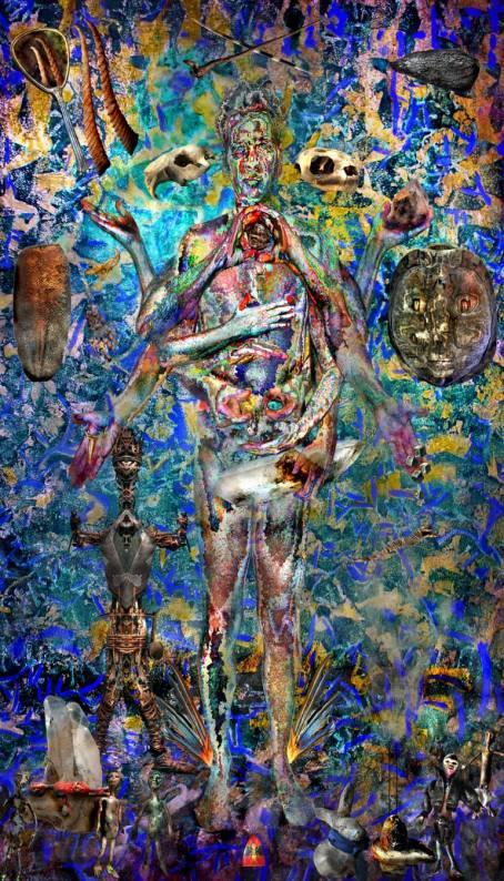 Neptune semi-sextile Uranus Revolutionary AR Art Napoleon Brousseau