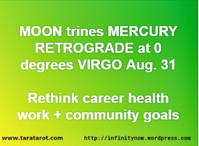 Astrology Horoscope August 31 Tara Greene