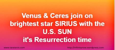 Venus Ceres Sirius America Tara Greene