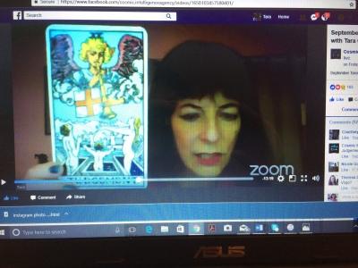 Tara Greene Cosmic Intellience Agency September vlog