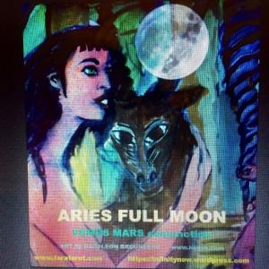 Aries Full Moon Tara Greene art napoleon Brousseau