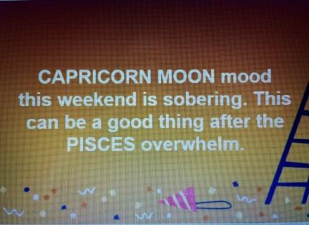 Capricorn Moon traits by Tara Greene