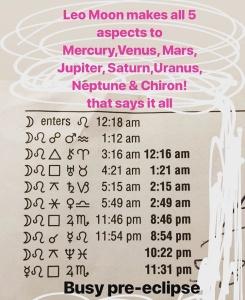 Pre-eclipse astrology Tara Greene