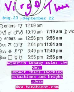 Aug 23 Daily Astrology Tara Greene