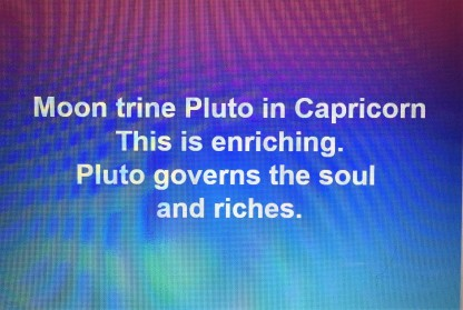 Moon Trine Pluto tara Greene Astrology