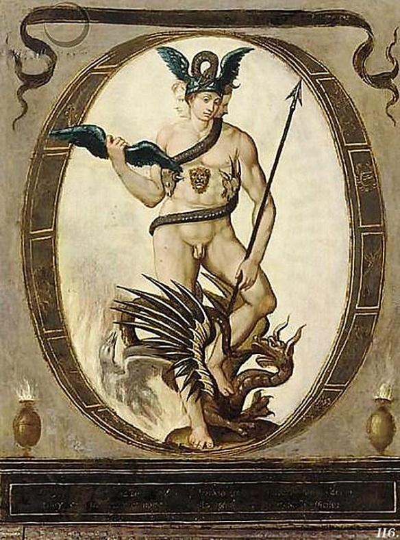 An allegory of Alchemy Circle of Bartholomaus Spranger (Antwerp 1546-1611 Prague) Public Domain