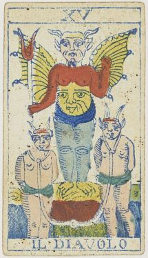 the Devil Tarot, Public Domain, tara Greene, astrology