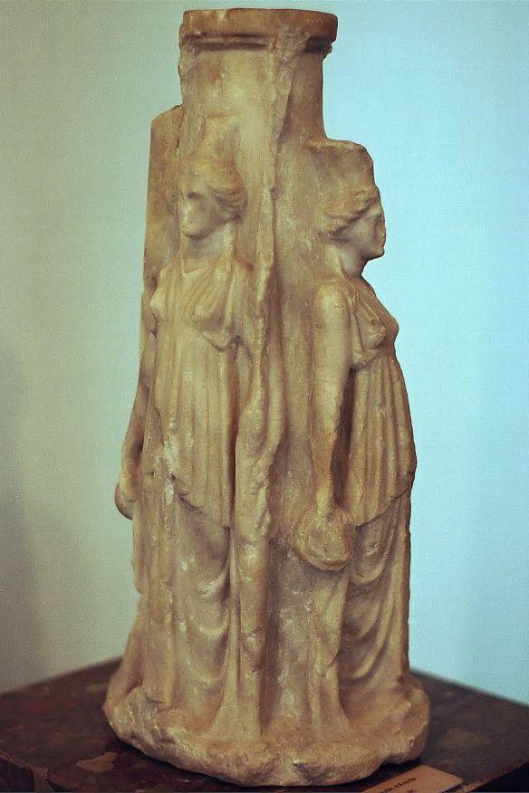 https://commons.wikimedia.org/wiki/File:Hecate,_Triple_goddess,_3rd_century_BC,_AM_Nesebar,_Nesm04.jpg