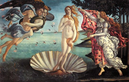 Venus 1024px-Birth_of_VenusSandro Botticelli [Public domain]