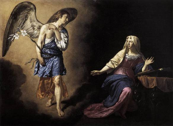 Archangel Gabriel, Adriaen van de Velde / Public domain