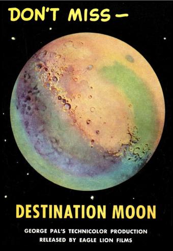 DestinationMoonPage35 Fawcett Comics George Pal Productions/ Public domain