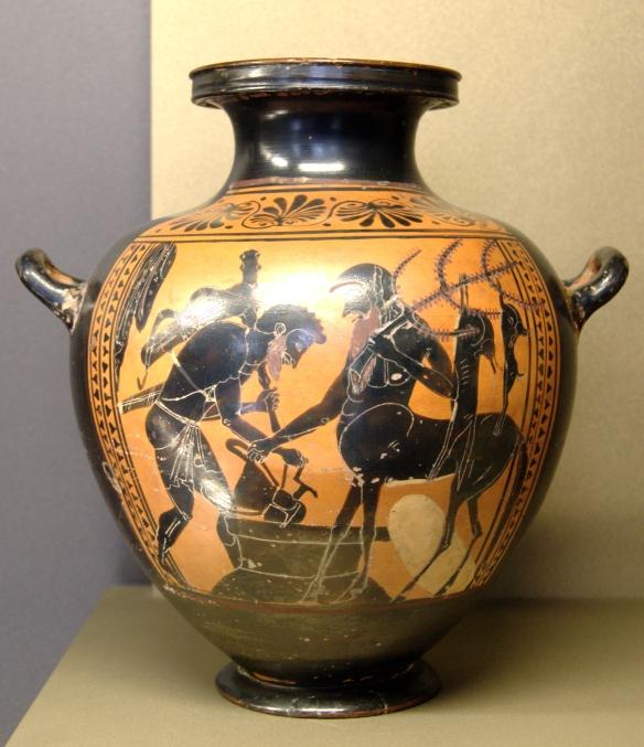 Herakles_Pholos_Louvre_MNE940 Louvre Museum Public domain