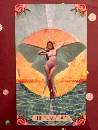 The Muse of I Am/ 22 The Fool The Muse Tarot