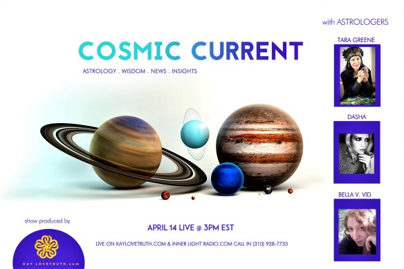 cosmic current astrology radio talk live on Inner Light radio in L.A.
