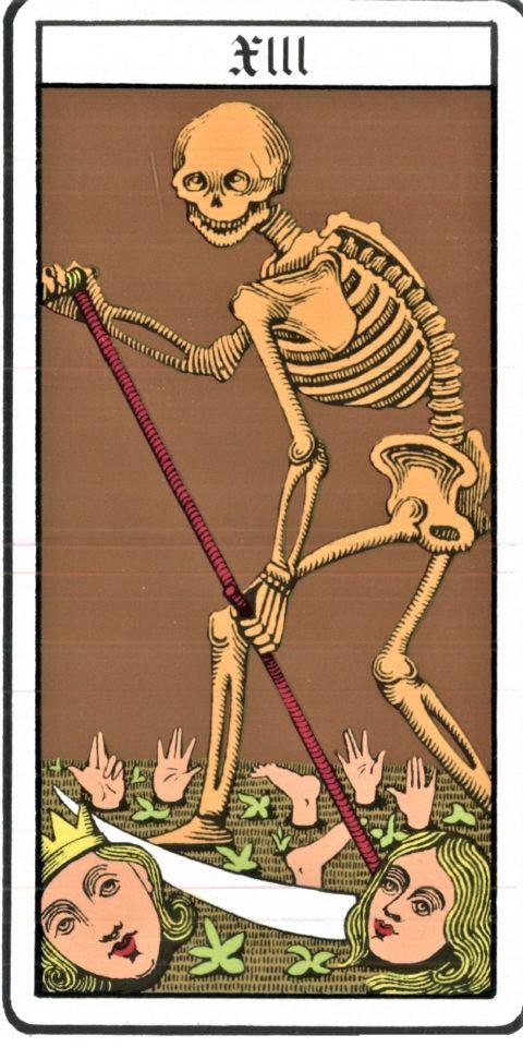 La Mort death Oswald Wirth/Public Domain