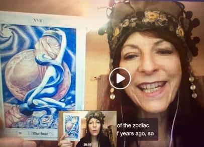 Tara Greene Tarot and Astrology video for Cosmic Intelligence Agency