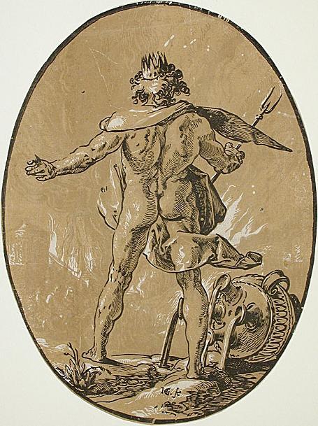 Pluto Hendrik Goltzius / Public domain