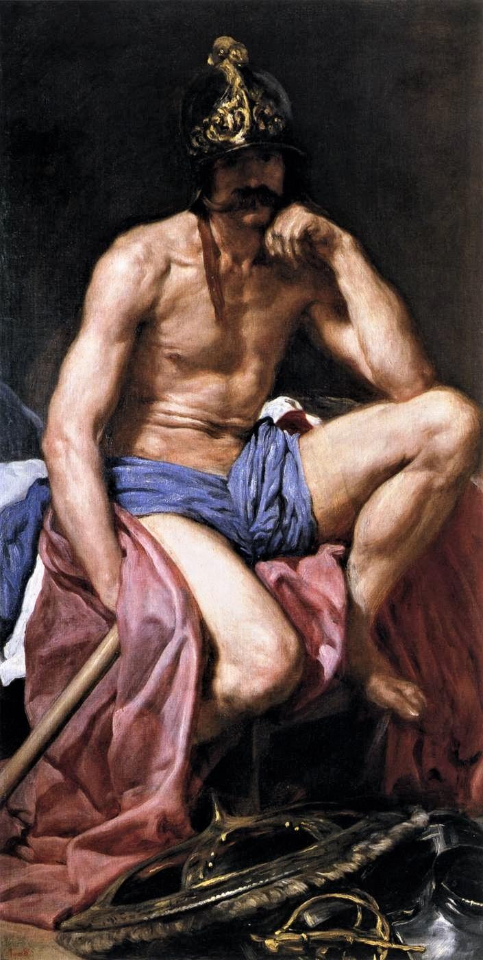 Diego Velázquez_-Mars,God of War Public domain