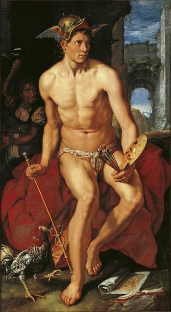Mercury Hendrik Goltzius, Public domain, via Wikimedia Commons