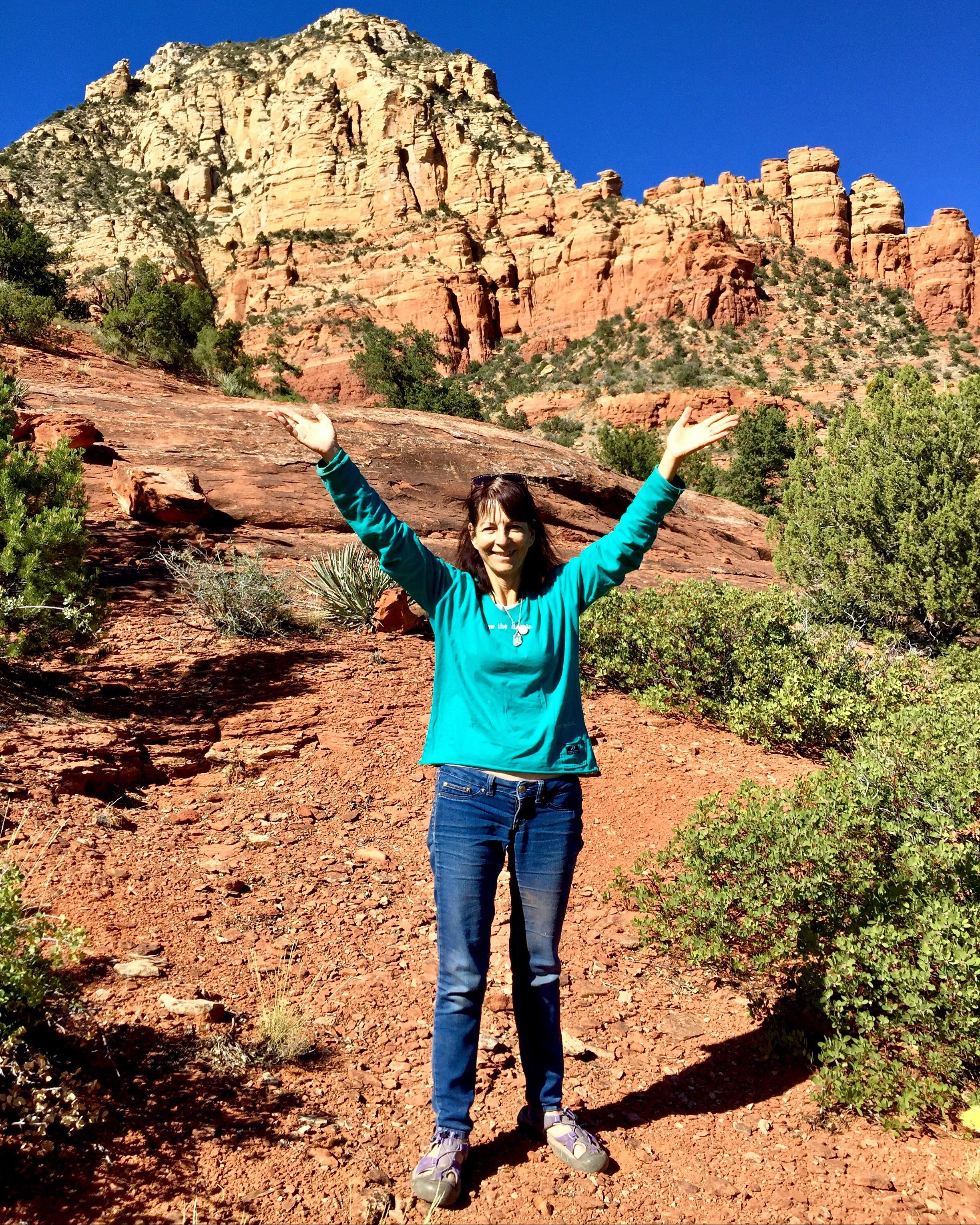 Sedona Arizona, Vortex red rocks,Tara Greene