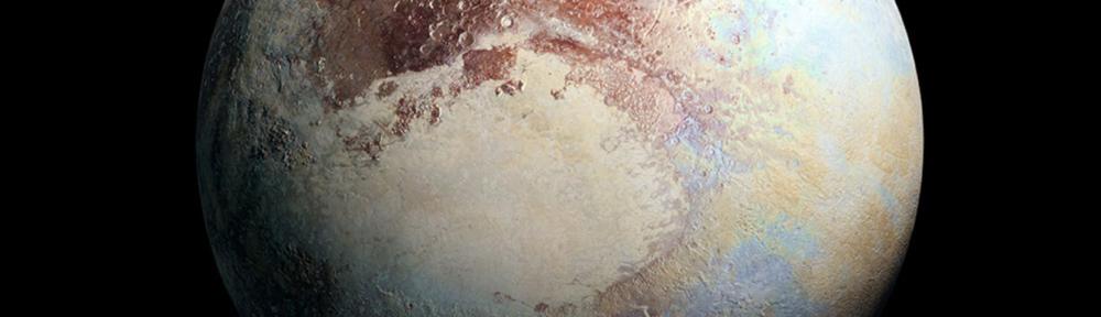 Pluto Black background Pablo Carlos Budassi, CC BY-SA 4.0 , via Wikimedia Commons